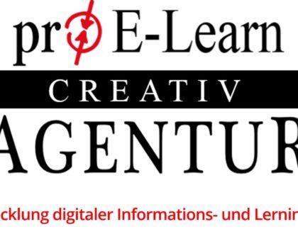 Seit 7 Jahren erfolgreich im E-Learning-Business: Die pro-E-Learn-Creativ-Agentur